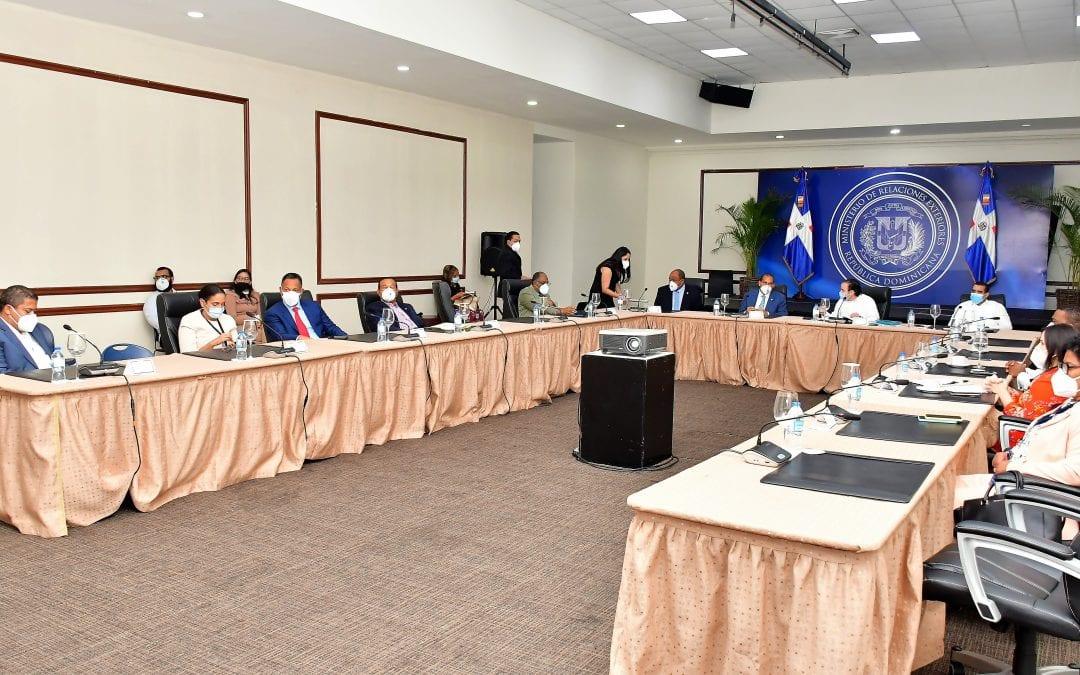 Comisión de Asuntos Fronterizos recibe propuesta del MIREX que busca  impulsar y modernizar zona fronteriza
