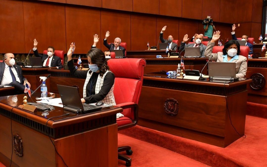 El Senado aprueba en dos lecturas consecutivas el Presupuesto General de la Nación para el 2021 por RD$1,094,808,402,391