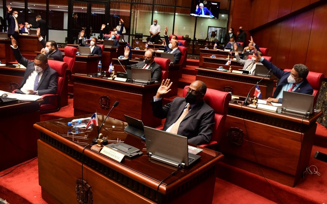 El Senado aprueba en primera lectura  proyecto de ley que crea y agrega viceministerios y modifica las leyes que rigen los ministerios del Gobierno Central