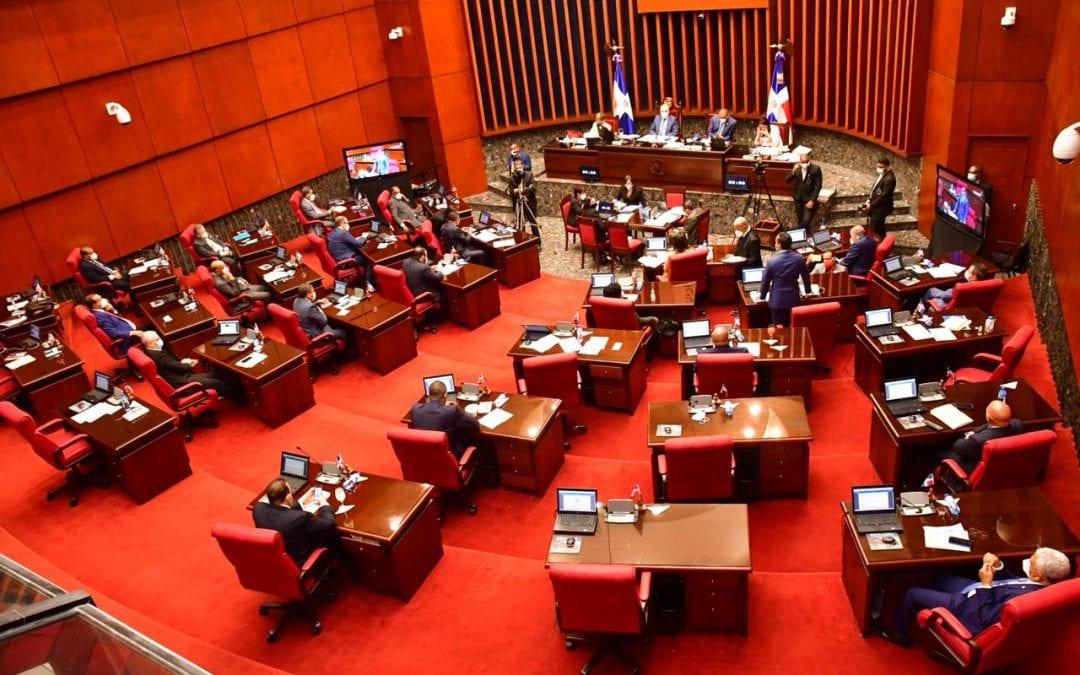 El Senado declara de urgencia y aprueba en dos lecturas consecutivas proyecto modifica el artículo 6 de la Ley No.340-06, sobre Compras y Contrataciones de Bienes del Estado